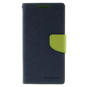 Mercur Peňaženkové puzdro pre Sony Xperia Z5 - tmavomodré - 3