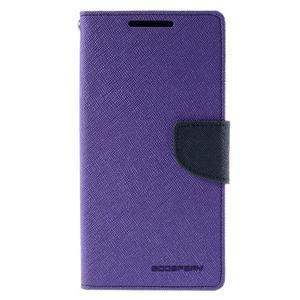 Mercur peněženkové pouzdro na Sony Xperia Z5 - fialové - 3