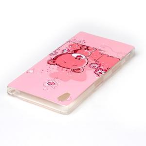 Softy gélový obal pre mobil Sony Xperia Z5 - medvedík - 3