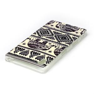 Softy gélový obal pre mobil Sony Xperia Z5 - slon - 3