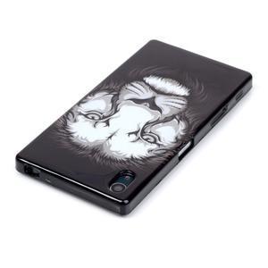Blacky gélový obal pre mobil Sony Xperia Z5 - lev - 3