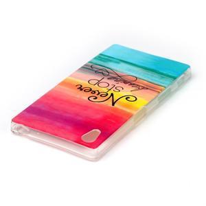 Softy gélový obal pre mobil Sony Xperia Z5 - neprestávaj snívať - 3