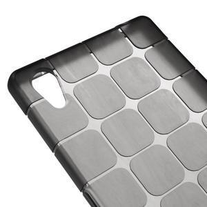 Square gélový obal pre Sony Xperia Z5 - sivý - 3