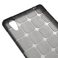 Square gélový obal pre Sony Xperia Z5 - sivý - 3/5