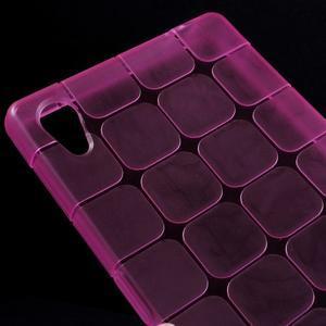 Square gélový obal pre Sony Xperia Z5 - rose - 3