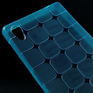 Square gélový obal pre Sony Xperia Z5 - modrý - 3