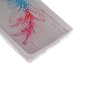 Gélový obal pre mobil Sony Xperia Z5 - pierko - 3