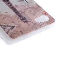 Gélový obal pre mobil Sony Xperia Z5 - Eiffelova veža - 3/4