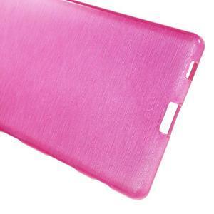 Brush lesklý gelový obal na Sony Xperia Z5 - rose - 3
