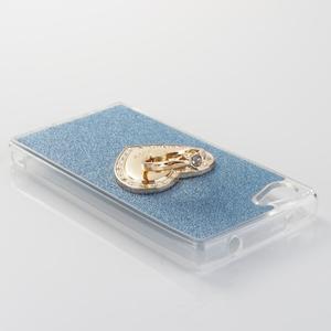 Love gélový obal s náprstkom na Sony Xperia Z5 Compact - modrý - 3