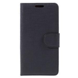 Grid Peňaženkové puzdro pre mobil Sony Xperia Z5 Compact - čierne - 3
