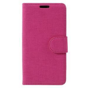 Grid Peňaženkové puzdro pre mobil Sony Xperia Z5 Compact - rose - 3