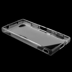 S-line gelový obal na Sony Xperia Z5 Compact - transparentní - 3