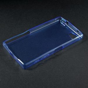 Ultratenký slim gélový obal pre Sony Xperia Z5 Compact - modrý - 3