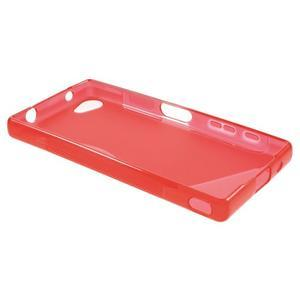 S-line gélový obal pre Sony Xperia Z5 Compact - červený - 3