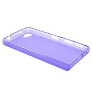 Matný gélový obal pre Sony Xperia Z5 Compact - fialový - 3