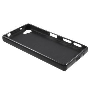 Solid lesklý gelový obal na mobi Sony Xperia Z5 Compact - černý - 3
