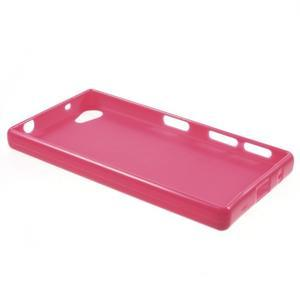 Solid lesklý gélový obal pre mobi Sony Xperia Z5 Compact - rose - 3