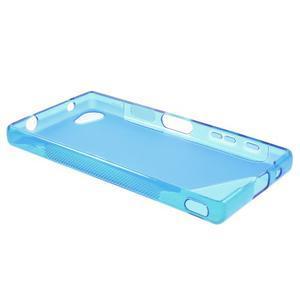 S-line gélový obal pre Sony Xperia Z5 Compact - modrý - 3