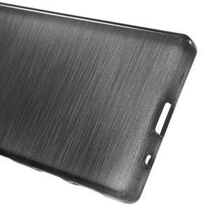 Brush gelový obal na Sony Xperia Z5 Compact - černý - 3