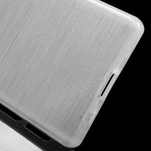 Brush gélový obal pre Sony Xperia Z5 Compact - biely - 3