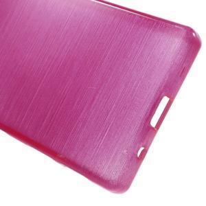 Brush gélový obal pre Sony Xperia Z5 Compact - rose - 3