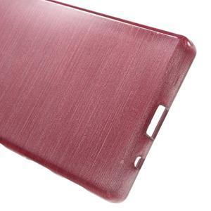 Brush gélový obal pre Sony Xperia Z5 Compact - ružový - 3
