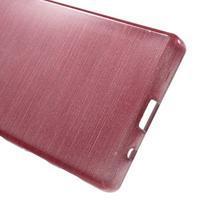 Brush gélový obal pre Sony Xperia Z5 Compact - ružový - 3/5
