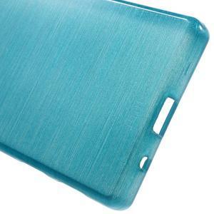 Brush gélový obal pre Sony Xperia Z5 Compact - modrý - 3