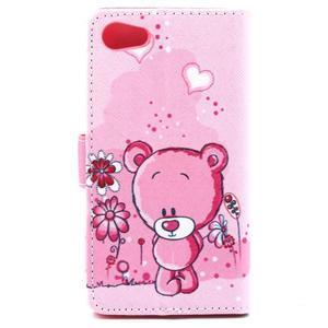Peňaženkové puzdro pre mobil Sony Xperia Z5 Compact - medvedík - 3
