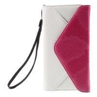 Štýlové Peňaženkové puzdro pre Sony Xperia Z5 Compact - rose - 3/7
