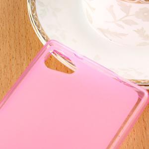 Double matný gelový obal na Sony Xperia Z5 Compact - rose - 3