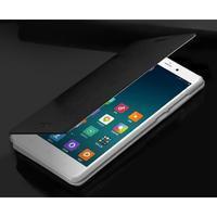 Černé PU kožené poudro na mobil Xiaomi Mi Note - 3/3