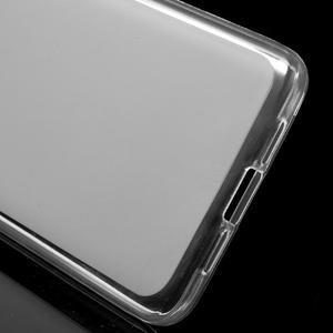 Matný gélový obal pre mobil Xiaomi Mi5 - biele - 3