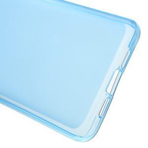 Matný gélový obal pre mobil Xiaomi Mi5 - modrý - 3