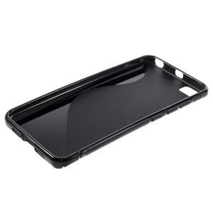 S-line gélový obal pre mobil Xiaomi Mi5 - čierný - 3