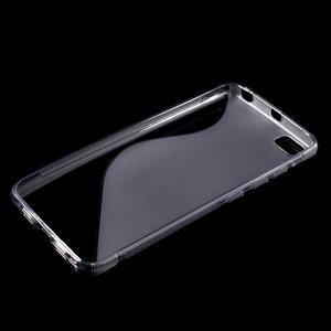 S-line gélový obal pre mobil Xiaomi Mi5 - sivý - 3