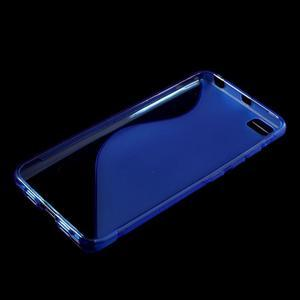 S-line gélový obal pre mobil Xiaomi Mi5 - modrý - 3