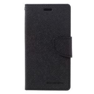 Diary PU kožené pouzdro na mobil Xiaomi Redmi 3 - černé - 3