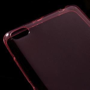 Ultratenký slim gelový obal na mobil Xiaomi Redmi 3 - červený - 3
