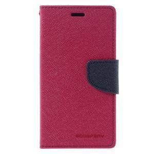 Diary PU kožené puzdro pre mobil Xiaomi Redmi 3 - rose - 3
