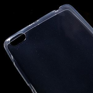 Ultratenký slim gelový obal na mobil Xiaomi Redmi 3 - transparentní - 3
