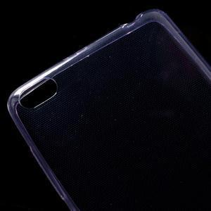 Ultratenký slim gelový obal na mobil Xiaomi Redmi 3 - fialový - 3