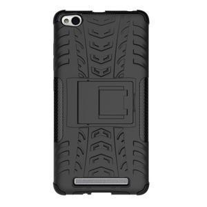 Outdoor odolný obal pre mobil Xiaomi Redmi 3 - čierný - 3