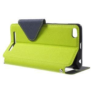 Diary view peněženkové pouzdro na Xiaomi Redmi 3 - zelené - 3