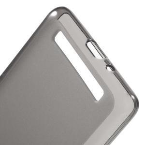 Matné gelové puzdro pre mobil Xiaomi Redmi 3 - sivé - 3