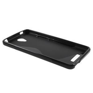 S-line gélový obal pre mobil Xiaomi Redmi Note 2 - čierny - 3