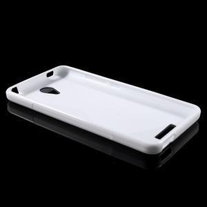S-line gélový obal pre mobil Xiaomi Redmi Note 2 - biele - 3