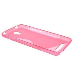 S-line gélový obal pre mobil Xiaomi Redmi Note 2 - rose - 3