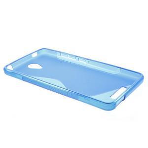 S-line gélový obal pre mobil Xiaomi Redmi Note 2 - modrý - 3